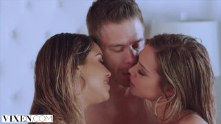 xnxx xxxx xnxc VIXEN Alina & Avery give their boyfriend special treat