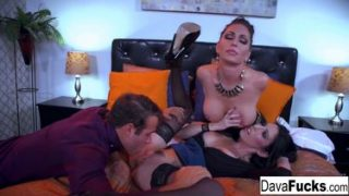 brazzers best sex threesome porn with Jessica , Chad and dava