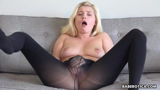 www horny xnxx com Carolina Sweets is wearing nylons