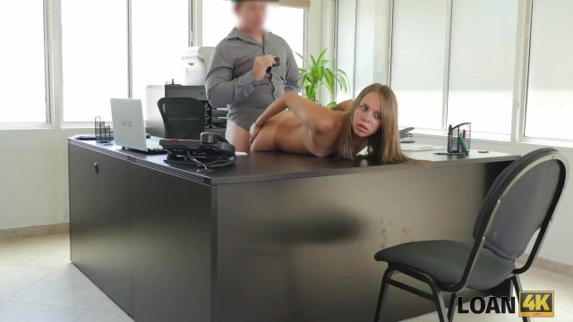 porn hub real amateur employee take her first anal by boss blue film